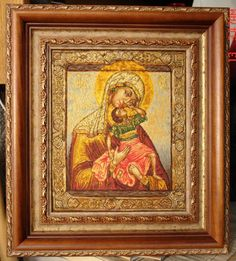 Gallery.ru / Фото #13 - Икона Божьей Матери «Взыграние младенца» - tr30935
