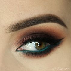 Check out our favorite Chocolate Truffle inspired makeup look. Embrace your cosmetic addition at MakeupGeek.com!