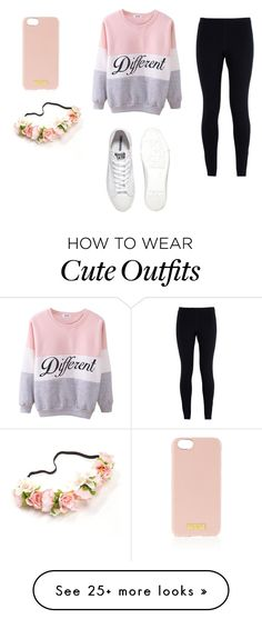 """""""My First Polyvore Outfit"""" by hilaliavillanuevalangi on Polyvore featuring мода, NIKE, Henri Bendel и Converse"""