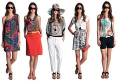 I love this collection, it's all selling out quick!  Trina Turk for Banana Republic!!!