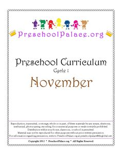Resources for parents, teachers, and caregivers of Preschoolers
