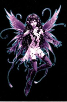 This is the fairy tattoo that I have on my back/left shoulder.