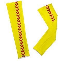 Softball Printed Arm Sleeves Softball Stitches