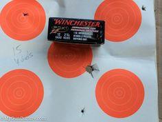 Winchester's PDX1 Defender 12 Gauge Buckshot and Slug Ammunition, Winchester's PDX1 Defense load creates a large pattern with slug and buckshot.