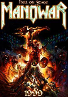 Manowar Band, Metal Bands, Rock Bands, Arte Heavy Metal, King Diamond, Band Wallpapers, Metal Albums, Metallic Wallpaper, Music Mix