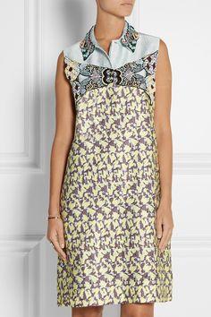 Mary Katrantzou|Taby embellished jacquard mini dress|NET-A-PORTER.COM