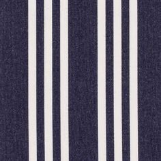 blue and white stripe sunbrella fabric