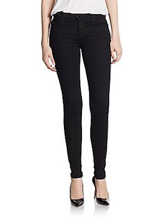 Mid-Rise Stacked Skinny Jeans - SaksOff5th