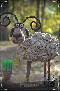 Игрушки животные, ручной работы. Заказать Баранкин Счастливый. Лена Лешка. Ярмарка Мастеров. Розы, авторская игрушка, пластика