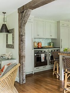 Kitchen beams