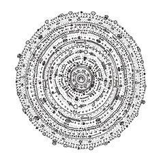 Mandalas: radial symmetry