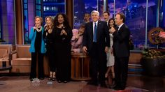 "So Long, Farewell Jay Leno:  Tonight Show host Jay Leno received a big send off from his first and final guest Billy Crystal, who led a parody of ""So Long, Farewell"" from The Sound of Music.    #JimParsons #Oprah #SherylCrow #KimKardashian #ChrisPaul #JackBlack #billycrystal #tv #parody #funny #tonightshow  http://l7world.com/2014/02/long-farewell-jay-leno.html"