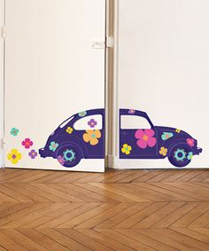 Printed on thick, high-quality paper, these wall decals are easy to apply, reposition and remove, making them perfect for decorating kids' rooms or adding whimsical accents to living room walls. This set includes a variety of decals that can be combined to form the image shown.