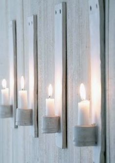 White ceramic candle holder 1 lighting decor ceramic decor - Another! Blue Candles, Candle Lanterns, Candle Sconces, Hanging Candles, Glass Candle, Ceramic Decor, Ceramic Pottery, Ceramic Design, Ceramic Candle Holders