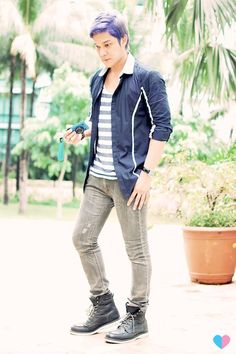 *Button-down shirt by Francis Libiran for MYTH worn as a top. This one shirt can be worn and styled numerous ways.