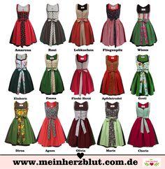 cute Dirndl Dresses Wiesn Oktoberfest                                                                                                                                                                                 More