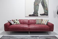 Sofa Lorenzo rot KARE + Studio Divani