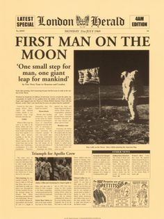 """One Small  Step for man. one giant leap for mankind"" Niel Armstrong"