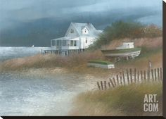 Down from Wellfleet Stretched Canvas Print by Albert Swayhoover at Art.com