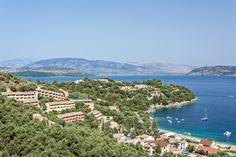 San Antonio Corfu Resort Location
