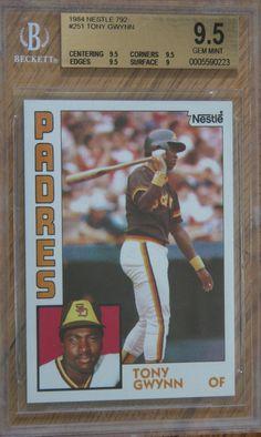 77 Best Tony Gwynn Baseball Cards Mostly Images In 2019
