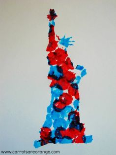 statue of liberty resist e1371018524801 Easy Fourth of July Art Activities for Kids