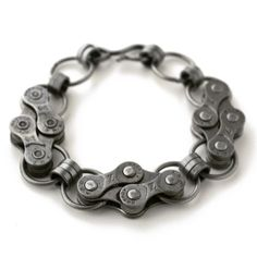 Handmade Gifts | Independent Design | Vintage Goods Bicycle Chain Bracelet - Dark Side of Style