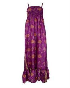maxi kjole fuchsia
