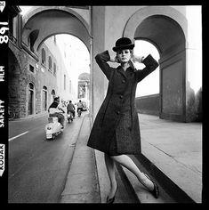 Photo:Vespa, Vogue, Florence, 1964 (exdeboflastyear)