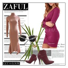 """""""ZAFUL"""" by red-rose-girl ❤ liked on Polyvore featuring Arche, OKA, women's clothing, women's fashion, women, female, woman, misses and juniors"""