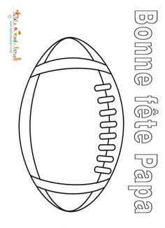 Coloriage Ballon Foot Imprimer.Ballon Rugby A Colorier Bing Images Scrap Football Coloring