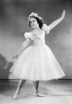 Shirley Temple, in costume for The Little Princess, 1939.