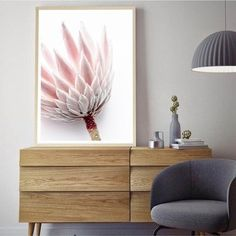 Trendy Art Prints For Walls Color Palettes Protea Art, Hallway Art, Colour Schemes, Color Palettes, Sea Art, Flower Photos, Wall Colors, Floral Watercolor, Photo Wall Art