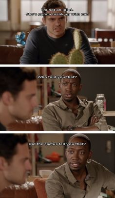Nick and Winston :) Oh how I Love New Girl ❤️