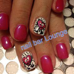 valentine by nailbarlounge  #nail #nails #nailsart