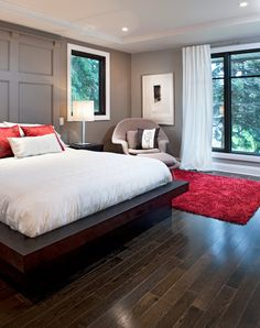Habitat Gift Home - contemporary - bedroom - ottawa - by Chuck Mills Residential Design & Development Inc.