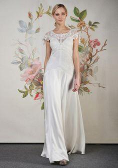 Coleções Vestidos de #Noiva #ClairePettibone #Decoupage 2014 - WREN #casarcomgosto