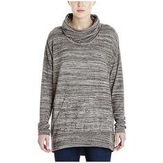 Bench Addition Crew Sweatshirt ($69) ❤ liked on Polyvore featuring tops, hoodies, sweatshirts, sweat shirts, drapey tops, bench sweatshirts, cowl neck tops and drape top