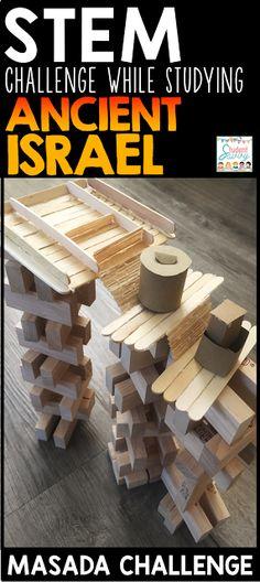 Ancient Israel STEM Challenge!