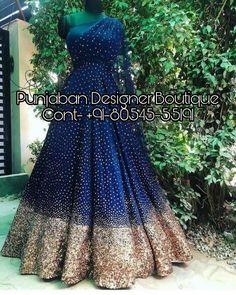 Beautiful Gowns for women at best prices. 👉 CALL US : + 91 - or Whatsapp Designer Gown Work : Handwork COLOURS Available In All Colours Fine quality fabric gowns for wedding reception Party Wear Evening Gowns, Party Wear Gowns Online, Wedding Evening Gown, Wedding Gowns Online, Party Wear Lehenga, Designer Evening Gowns, Designer Gowns, Chandigarh, Evening Gowns Online India