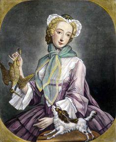 1745 Thomas Burford (British artist, 1710-1770) Month of November