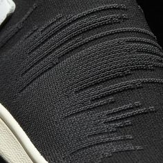 "foxyou-too: ""Adidas Stan Smith Sock Primeknit Sock Black Toebox "" Knitwear Fashion, Knit Fashion, Men's Knitwear, Fabric Textures, Textures Patterns, Techniques Textiles, Texture Design, Minimal Design, Adidas Stan Smith"