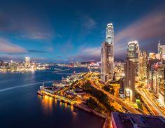 Hong Kong Skyline! Always a pleasure right? #hongkong #china #travel