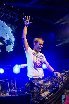 Armin Van Buuren. Love AvB? Visit http://trancelife.us to read our latest #ASOT reviews.