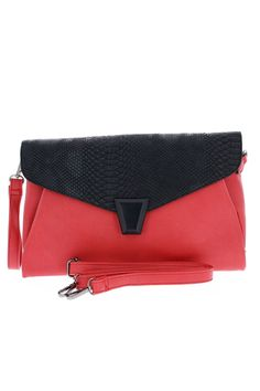 Pochette croco rouge - Zonedachat Couture, Zip Around Wallet, Budget, Clutch Bags, Bags, Red, Haute Couture