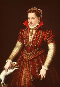 1580 Noblewoman by Lavinia Fontana (National Museum of Women in the Arts, Washington)  Dear Lordy but I want this in a beautiful dusty pink...