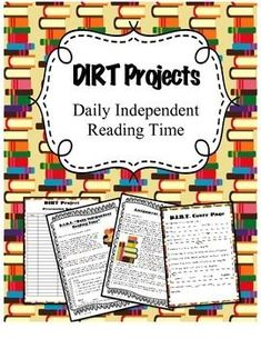 Year Long Independent Reading Project that students complete at home - great way to differentiate!