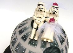 Star Wars Wedding Cake - Foodista.com