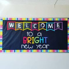 Dana Quinn used my WELCOME banner and border to create this stunning border bulletin board! Dana Quinn ・・・ I& OBSESSED! ❤️ p Dana Quinn used my WELCOME banner and border to create this stunning border bulletin board Repost Dana Quinn I m OBSESSED p Rainbow Bulletin Boards, Office Bulletin Boards, Elementary Bulletin Boards, Kindergarten Bulletin Boards, Summer Bulletin Boards, Bulletin Board Display, Classroom Bulletin Boards, Classroom Themes, Bulletin Board Borders