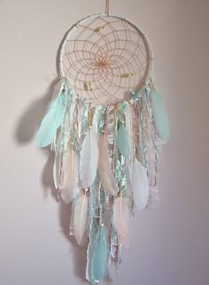 Boho Dreamcatcher Wall Hanging | Teen Girl Room Decor #bohochic #boho #dreamcatchers #walldecor #tribal #affiliatelink
